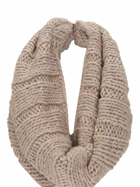 "<p>Chunky knit snood, £18, by <a href=""http://www.warehouse.co.uk/fcp/product/fashion/Accessories/handknit-oversize-snood/299443"">Warehouse</a> </p>"