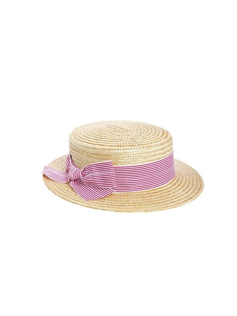 "<p>Pass the Pimms.</p><p><a href=""http://www.asos.com/Catarzi/Catarzi-Boater-With-Candy-Stripe/Prod/pgeproduct.aspx?iid=3900745&amp;SearchQuery=boater&amp;sh=0&amp;pge=0&amp;pgesize=36&amp;sort=-1&amp;clr=Natural"">Asos</a> boater, £30</p>"