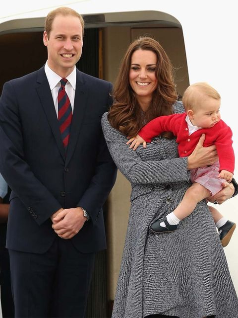 <p>William, Kate and George say goodbye as they depart Australia to fly home to the UK.</p>