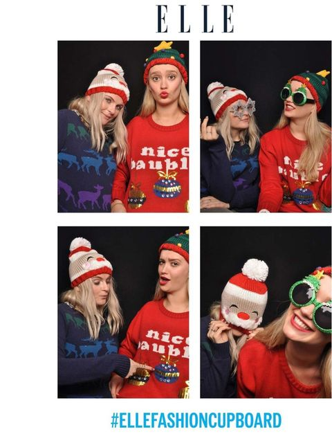 <p>Senior beauty writer Amy Lawrenson and Beauty assistant Joely Walker</p><h4>#ChristmasJumperDay</h4><p>Wearing jumpers from New Look and Primark</p><p>Accessories from Urban Outfitters and New Look</p>