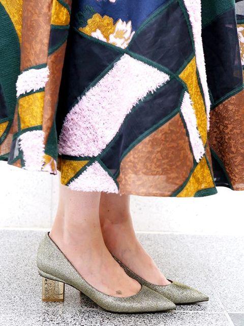 <p>Lorraine Candy, Editor-in-Chief</p>  <p>Roksanda dress, Cartier jewellery, Louboutin shoes</p>