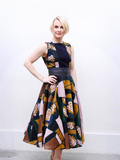 <p>Lorraine Candy, Editor-in-Chief</p>  <p>Roksanda dress, Cartier jewellery, Louboutin shoes</p>