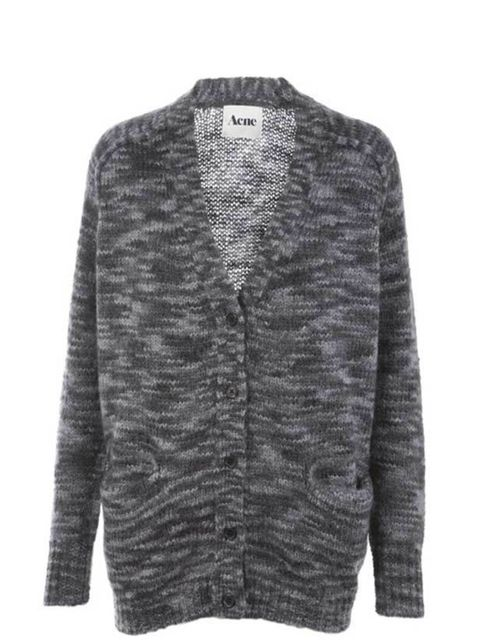"<p>Acne 'Beryl' cardigan, £209, available from <a href=""http://www.seftonfashion.com/shopping/women/acne/item10051717.aspx"">Sefton Boutique</a></p>"