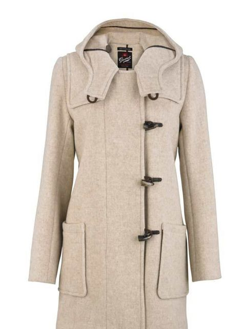 "<p><a href=""http://www.gloverall.co.uk"">Gloverall</a> duffle coat, £285</p>"