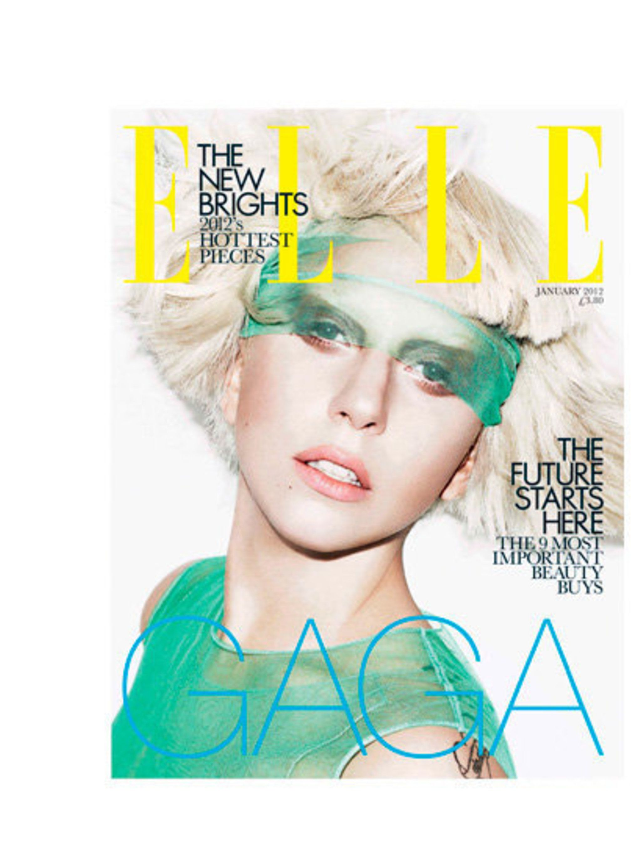<p>Lady Gaga, Subs Cover, January 2012.</p>