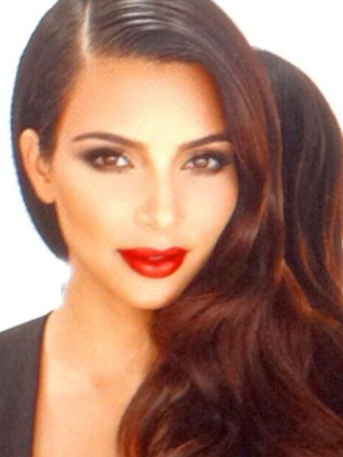 Kim Kardashian: 'Good day on set today with my sisters! Glam by my dream team @makeupbymario @mrchrismcmillan'