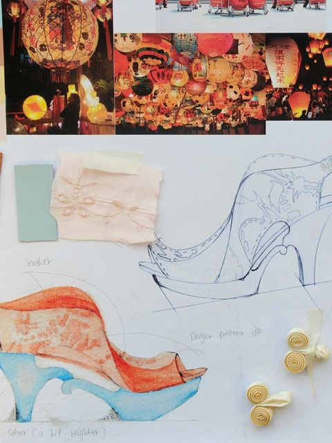 <p>Student Mei Chun Lai's shoe design</p>