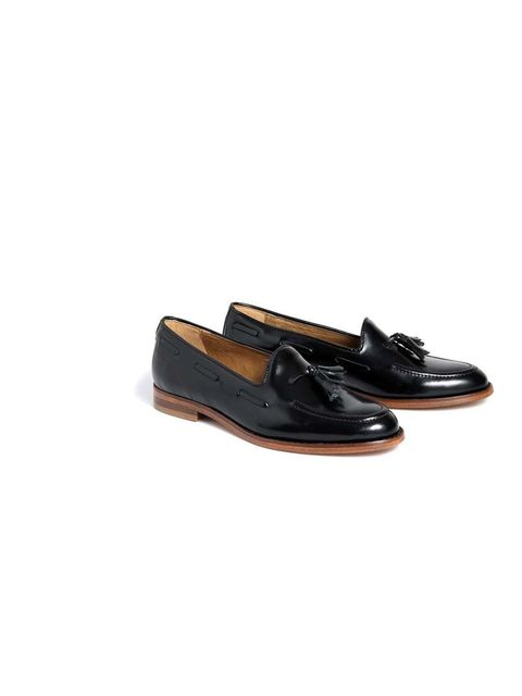"<p>Fashion Assistant Molly Haylor will channel her inner academic in these classic loafers.</p><p><a href=""http://www.hudsonshoes.com/stanford-black.html"">H by Hudson</a> loafers, £130</p>"