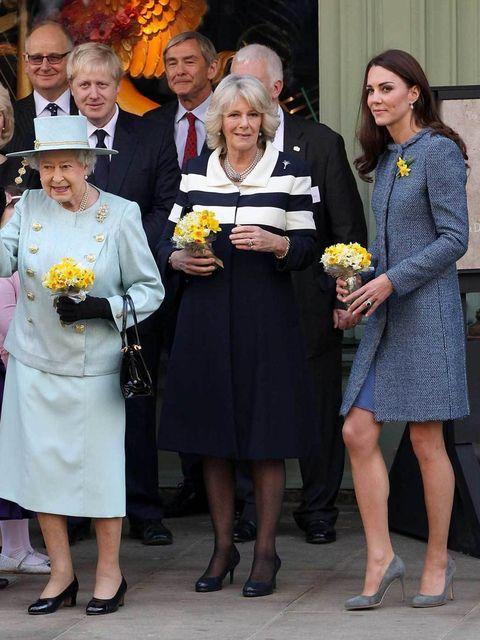 <p>A trio of royals</p>