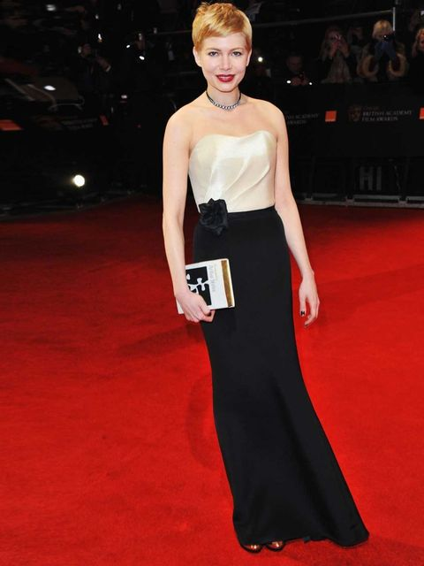 """<p><a href=""""http://www.elleuk.com/elle-tv/cover-stars/elle-magazine/behind-the-cover-michelle-williams"""">ELLE cover star </a>and best actress nominee <a href=""""http://www.elleuk.com/star-style/celebrity-style-files/michelle-williams"""">Michelle Williams</a> w"""