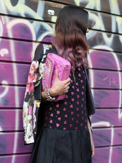 <p>Milan Street Style Spring Summer 13</p>