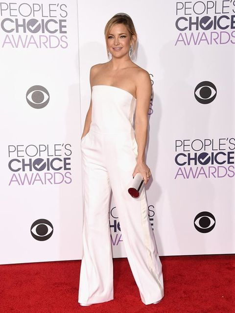 <p>Kate Hudson attends the People's Choice Awards in LA, January 2016</p>