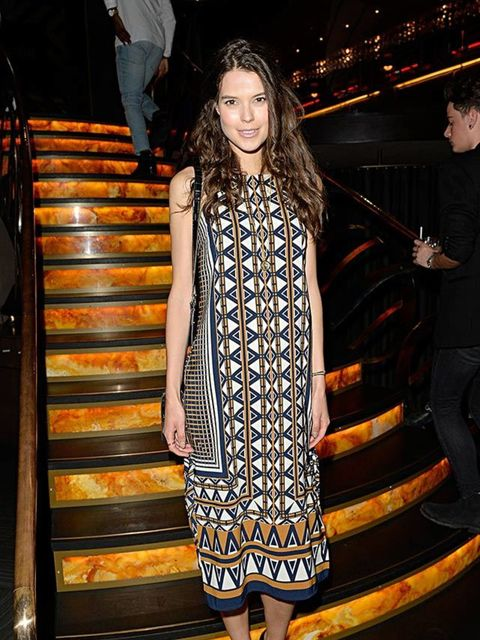 Sarah Ann Macklin at the LC:M s/s16 ShortList and House of Fraser LC:M closing night party, June 2015