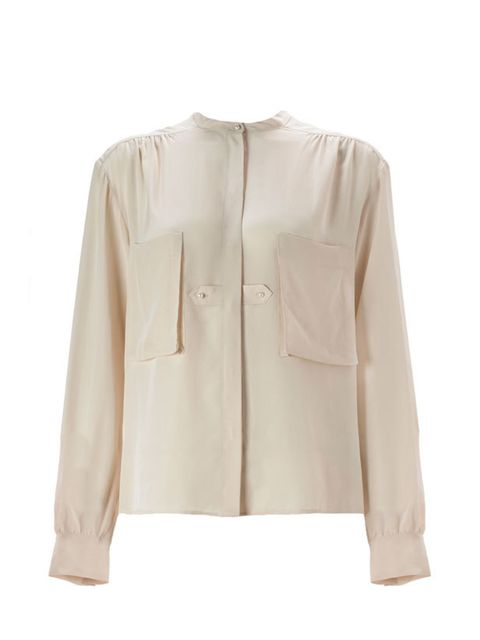 <p>Whistles silk blouse, £85, 0845 899 1222 </p>