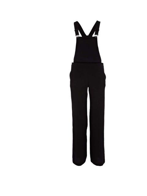 "<p>Black dungarees £40 <a href=""http://www.riverisland.com/women/playsuits--jumpsuits/jumpsuits/Black-smart-dungarees--633906"">River Island</a></p>"