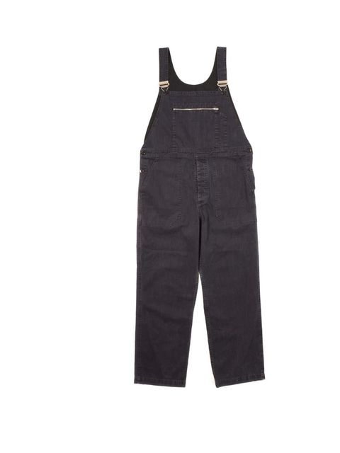 """<p>Navy twill dungarees £285 <a href=""""http://www.margarethowell.co.uk/women/trousers/mhl-dungarees-indigo-twill-indigo"""">Margaret Howell</a> </p>"""