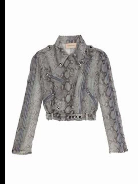 <p>Jacket, £1820, by Christopher Kane, for stockiest details call 02075140000</p>