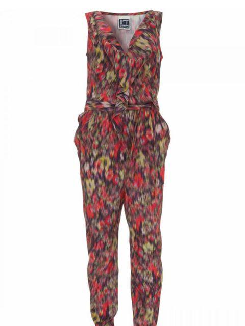 <p>Floral silk jumpsuit, £85, by Topshop (0845 121 4519)</p>