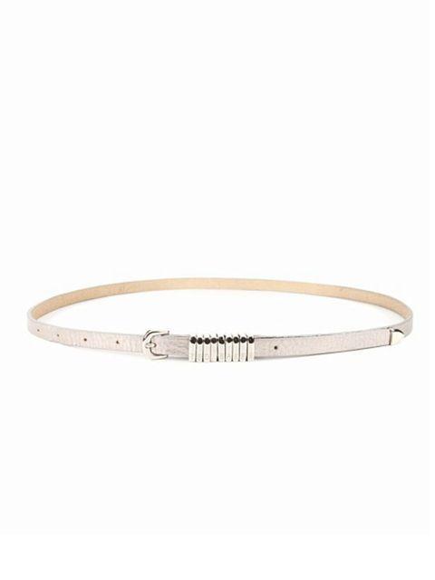 "<p><a href=""http://www.tedbaker.com/accessories_+_shoes/women%27s/belts/list.aspx"">Ted Baker</a> skinny belt, £39</p>"