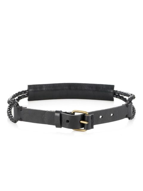 <p>Whistles leather belt, £40, for stockists call 0845 899 1222</p>