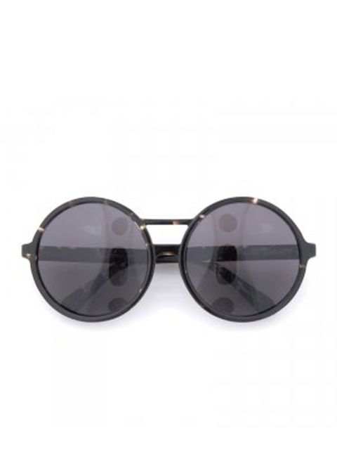 "<p>Dark tortoiseshell round sunglasses, £149, by Karen Walker at <a href=""http://goodhoodstore.com/?page=51&id=1203&b=36"">Goodhood</a> </p>"