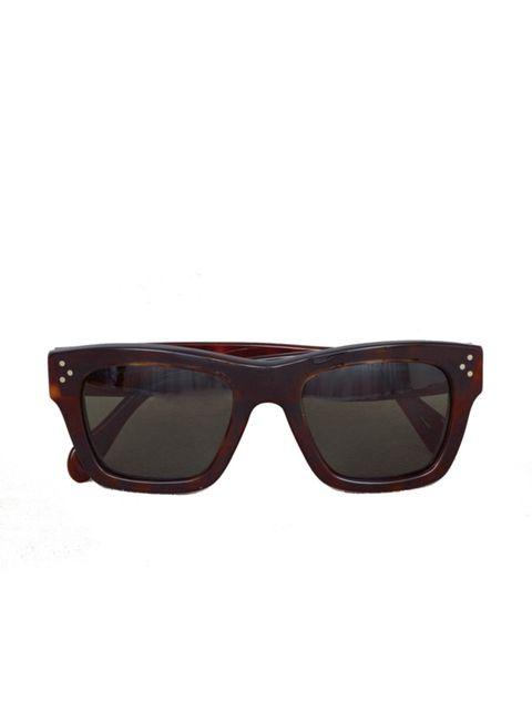 <p>Tortoiseshell sunglasses, £184, by Celine at Selfridges (0800 123 400)</p>