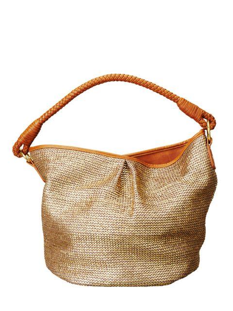 <p>Straw bag, £14.99, by H&amp&#x3B;M (0207 323 2211)</p>