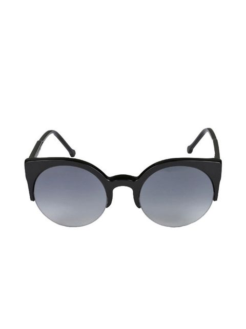 <p>Round frame sunglasses, £118, by Retro Super Future at Bunnyhug </p>
