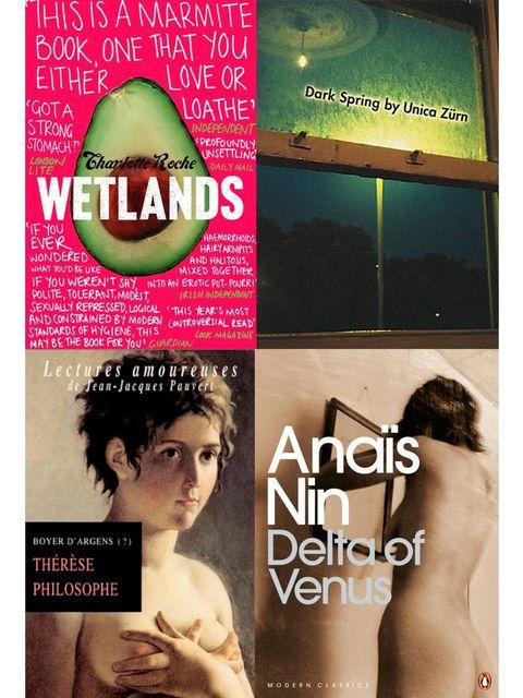 <p>Sasha Grey's favourite erotic fiction</p>