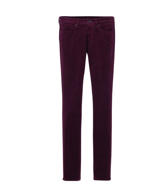 "<p>Here's a savvy way to embrace the new season modern goth. Think glamorous not grungy, dark but luxurious, think deep plum coloured cords from Uniqlo… <a href=""http://www.uniqlo.com/uk/"">Uniqlo</a> corduroy trousers, £14.90</p>"