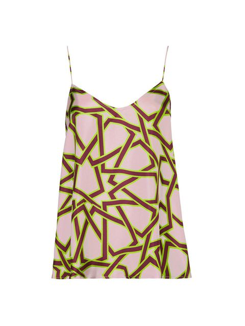 "<p>Star-print silk cami, £60, <a href=""http://www.topshop.com/en/tsuk/product/clothing-427/tops-443/camis-2139002/star-print-silk-cami-by-unique-2665937?refinements=category~%5B1261997%7C208524%5D&amp;bi=1&amp;ps=200"">Topshop Unique</a>.</p><p><em><a href"
