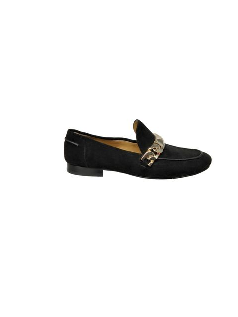 "<p>If you buy just one pair of shoes this season, make it a pair of loafers... <a href=""http://www.ninewest.co.uk/ushering-10.html"">Nine West</a> black loafers, £120</p>"