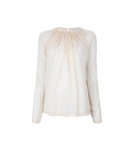 "<p>Treat yourself to something feminine and effortlessly chic this winter. See by Chloe is our top pick… See by Chloe nude silk blouse, £189.76, at <a href=""http://www.farfetch.com/shopping/women/designer-see-by-chloe-ruffle-neck-blouse-item-10275644.aspx"
