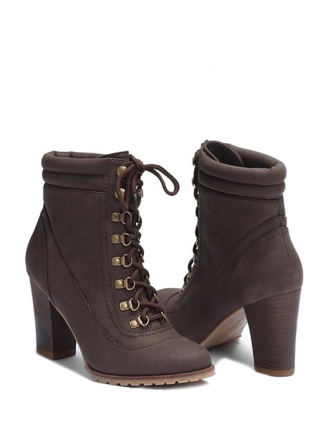<p>Zara lace-up hiking boots, £49.99, for stockists call 0207 534 9500 </p>