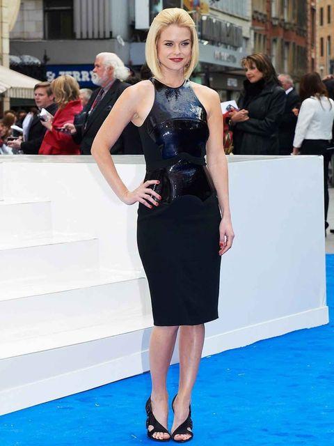 "<p>Alice Eve in a black <a href=""http://www.elleuk.com/catwalk/designer-a-z/antonio-berardi/autumn-winter-2012"">Antonio Berardi</a> drerss at the Men in Black III London Premiere</p>"