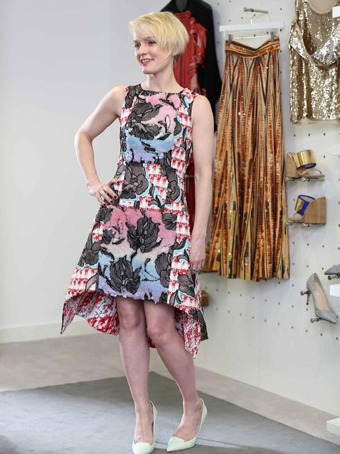 <p>Lorraine Candy - Editor in ChiefPeter Pilotto dress and Jimmy Choo shoes.</p>