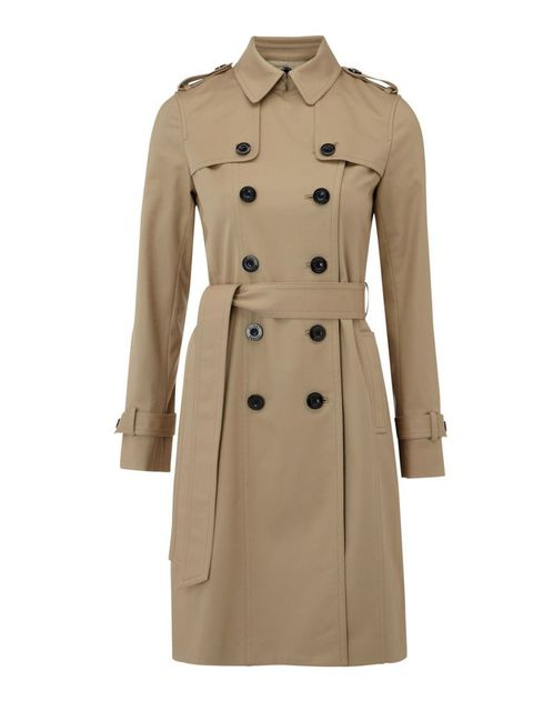 "<p>Hobbs Imperial trench, £189, available from <a href=""http://www.houseoffraser.co.uk/Hobbs+Imperial+trench/179277536,default,pd.html"">House of Fraser</a></p>"