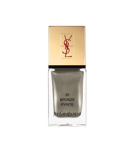 "<p>La Laque Couture in Bronze Pyrite No35, £18 by <a href=""http://www.yslbeauty.co.uk/"">YSL</a></p>"