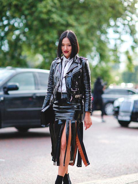Tiffany Hsu wears Toga outfit