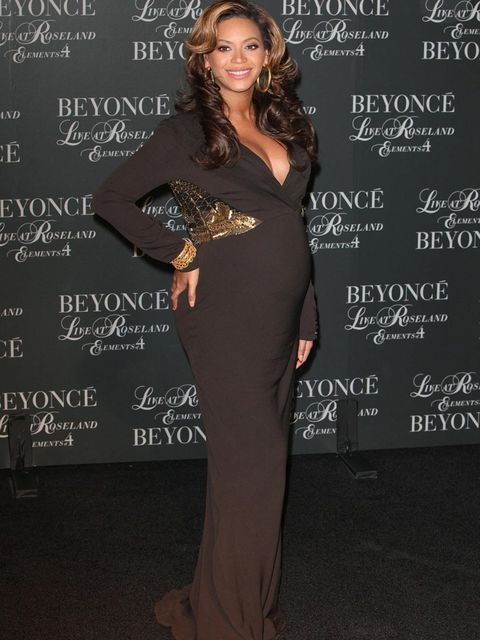 <p>Beyonce at an event in November</p>