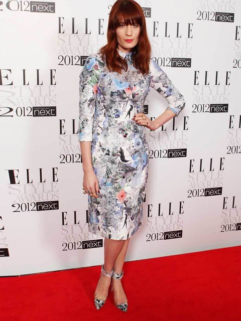 "<p><a href=""http://www.elleuk.com/star-style/celebrity-style-files/florence-welch"">Florence Welch</a> wearing <a href=""http://www.elleuk.com/catwalk/designer-a-z/erdem/spring-summer-2012"">Erdem</a> at the 2012 ELLE Style Awards.</p>"