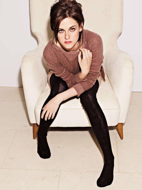 <p> Kristen Stewart, ELLE cover shoot July 2010</p>