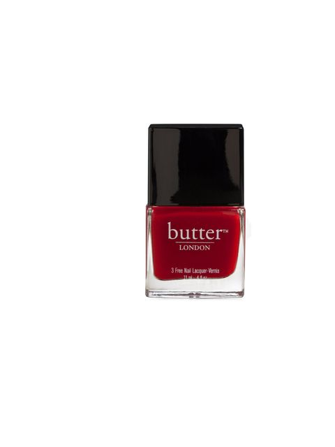 "<p><a href=""http://www.theukedit.com/butter-london-3-free-lacquer-saucy-jack-11ml/10305959.html"">Butter London 3 Free Lacquer in Saucy Jack</a>, £12</p>"