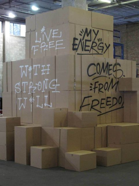 <p><strong>Shop now</strong></p><p>Dover Street Market presents its biggest and most impressive shopping festival ever: Market Market Cardboard City. Archive products from favourite DSM brands are up for graps at discount pri