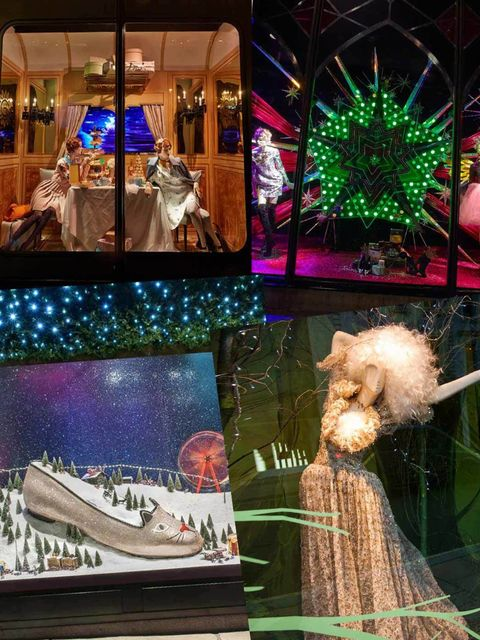 <p>Christmas is less than a month away which means that we can indulge in one of our favourite festive pastimes: checking out the Christmas windows. From a steam train at Harrods to ballerinas at Fenwick, here's what the most creative window dressers have