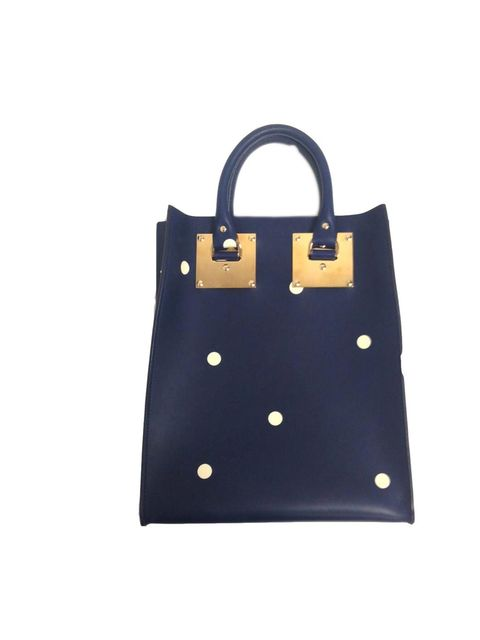"<p>Go dotty. Bag by Sophie Hulme.</p><p><a href=""http://www.elleuk.com/fashion/in-store-now/new-in-fashion-christmas-2013-shopping-high-street-jewellery2"">Our pick of the hottest items hitting the shops this week.</a></p>"