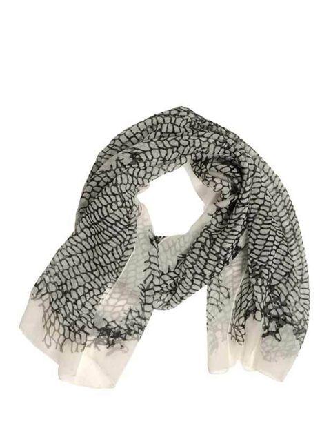 "<p>Ann Demeulemeester scarf, £150, at <a href=""http://www.thecorner.com/item/YOOX/ANN+DEMEULEMEESTER/dept/tcnewarrivalsw/tskay/582B0E9B/rr/1/cod10/46188354LT/sts/sr_tcnewarrivalsw3"">thecorner.com</a></p>"