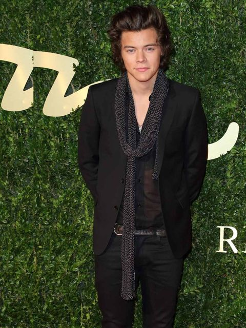 <p>Harry Styles attends the British Fashion Awards 2013 in London. </p>