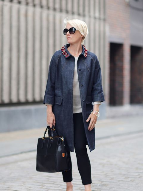 <p>Lorriane Candy – Editor in Chief</p>  <p>Miu Miu coat, Banana Republic jumper, Joseph trousers, Chanel shoes, Armani bag, Bulgari glasses, Chloe bracelet</p>
