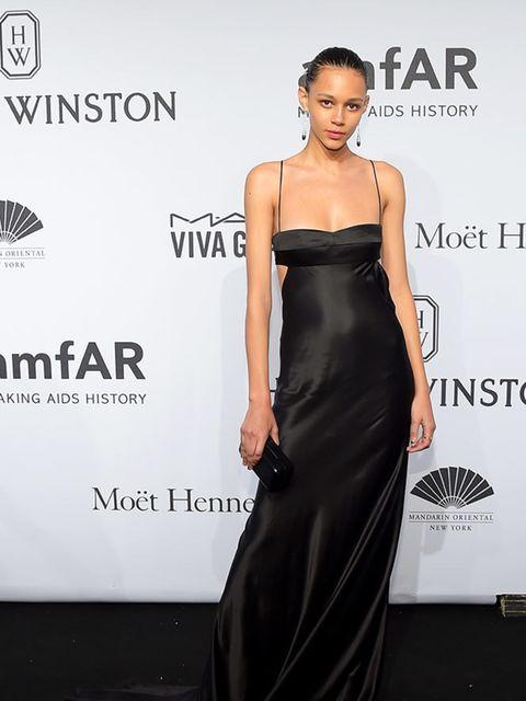 Binx Walton attends the amfAR New York gala at Cipriani Wall Street, February 2015.
